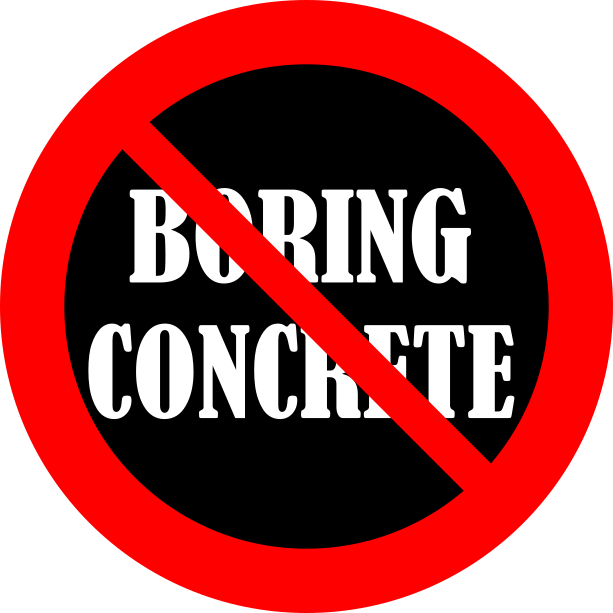 No Boring Concrete